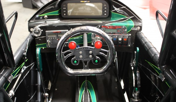 Tommy's new dash